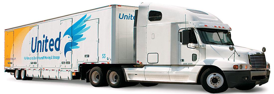 United Van Lines truck